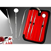 BeautyTrack - Zahnaufhellung, Zahnspiegel - Sonde, Zahnseide - Kurette - Zahnpflege - Zahnhygiene - 3 Stück Zahnarzt-Set - preisvergleich bei billige-tabletten.eu