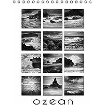 Ozean (Tischkalender immerwährend DIN A5 hoch): 12 dramatische, monochrome Meeres-Aufnahmen mit immerwährendem Kalendarium (Tischkalender, 14 Seiten) ... [Kalender] [Dec 17, 2013] Cross, Martina