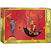 Eurographics For and Against by Wassily Kandinsky Puzzle (1000 Pieces) by Eurographics