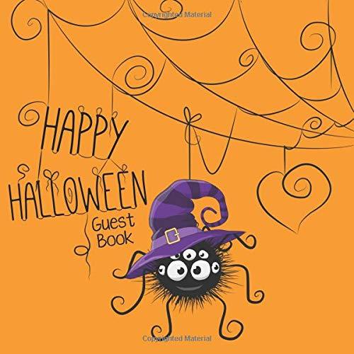 Happy Halloween Guest Book (Science Special Halloween Spooky)