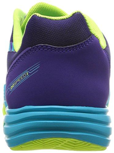 Puma Evospeed Indoor 3.3, Herren Hallenschuhe Violett - Violet (Prismviolet/Yellow/Blue)
