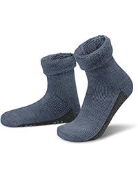 ALPAKA Wollsocken mit Alpaka- & Schafwolle sowie rutschfestem ABS-Aufdruck