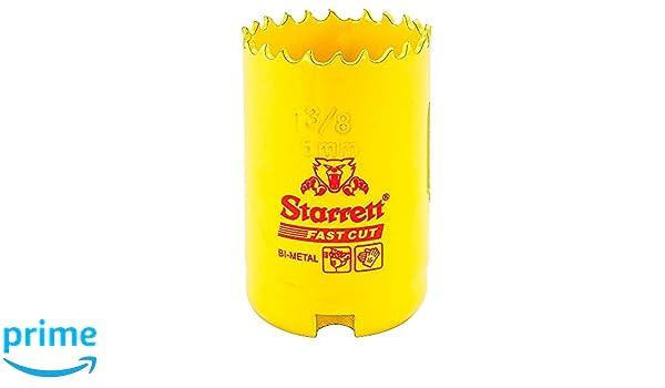 couleur jaune Starrett 63/FCH035//–/Couronne pour carotteuse 35/mm