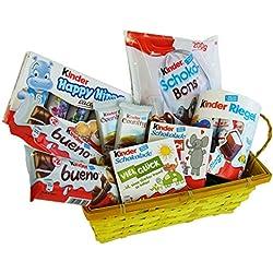Geschenk Set Liebeszauber für Valentinstag, Muttertag und Weihnachten mit Ferrero Kinder Spezialitäten (9-teilig)