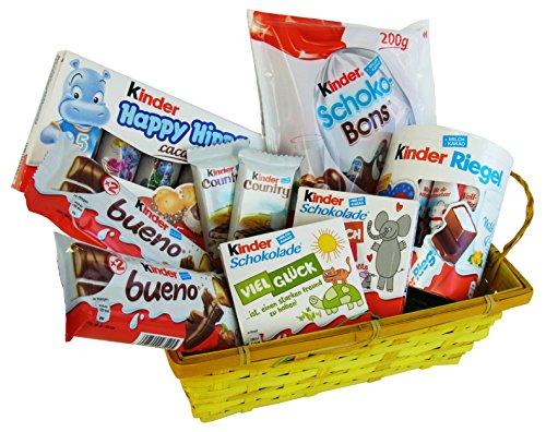 auber für Valentinstag, Muttertag und Weihnachten mit Ferrero Kinder Spezialitäten (9-teilig) ()