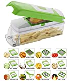 #1: Rock Vegetable Cutter With Chopper ,12 Blades With Peeler