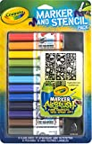 Best Crayola Juguetes ¡4 años - Crayola Marker and Stencil pack blue Multi 12pieza(s) Review
