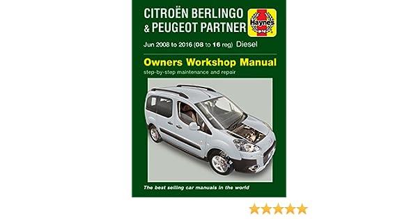 peugeot partner van repair manual
