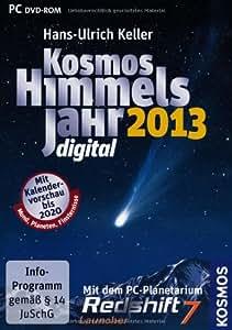 Kosmos Himmelsjahr digital 2013: Mit dem PC-Planetarium Redshift 7 Launcher