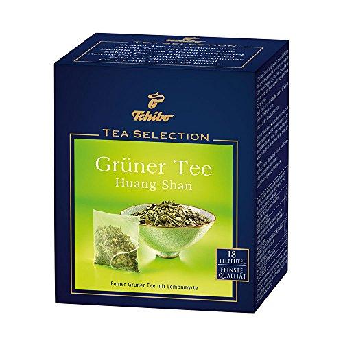 Tchibo Tee Selection Grüner Tee Huang Shan 18 Teebeutel