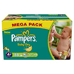 pampers baby dry couches maxi 9 20 kg taille 4 format. Black Bedroom Furniture Sets. Home Design Ideas