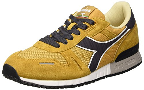 Diadora Titan Ii, Scarpe Low-Top Unisex - Adulto, Giallo (Amber Gold/Nine Iron),