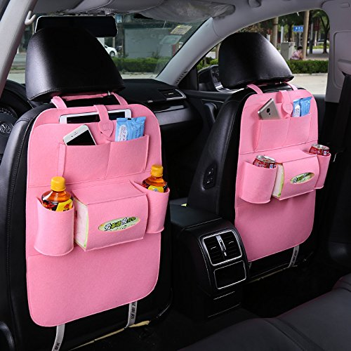 villexun Auto Rücksitz organiser-newest design-perfect für iPad, Tablet, Bücher, glasses-back Sitz Organizer für Kinder mit Baby Tücher holder-baby diaper-cell Telefon pocket-drink cokay LTD Zeitschriften Tasche für Zeitungen, laptop-universal Passform für die meisten Autos, LKW, SUV, MINIVAN