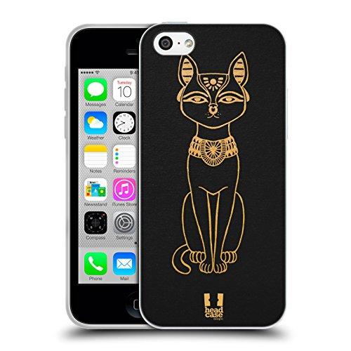 Head Case Designs Akhenaten Les Icônes De L'égypte Antique Étui Coque en Gel molle pour Apple iPhone 6 / 6s Bastet
