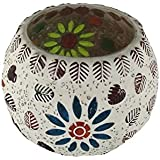 Mosaic Glass Tealight Holder For Home Décor