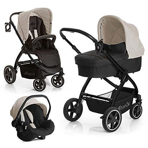 Hauck Kinderwagen-Set Priya Trio Set - Almond