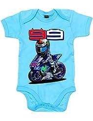 Body bebé Moto GP Lorenzo en la moto