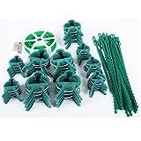 Viva-Haushaltswaren - 61-teiliges Pflanzen - Clip - Set / Pflanzenbinder / Bindedraht