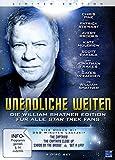 Unendliche Weiten - Die William Shatner Edition für alle Star Trek Fans (Limited Edition) [4 DVDs]