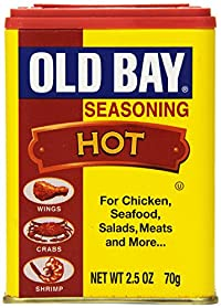Old Bay Seasoning, Hot, 2.50 Ounce (Pack of 12)