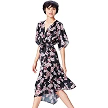 FIND Vestido Estampado de Flores para Mujer