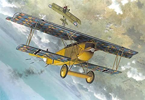 Roden Fokker D.VII F Late German Fighter Airplane Model Kit by MMD Holdings, LLC