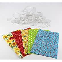 Patchwork Templates Triangles & Hexagons And Squares & Sector Set Of 27(54pcs) by