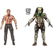 Predator pack 2 figurines Final Battle Dutch vs. Predator 18 cm