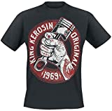 King Kerosin Piston Power T-shirt noir XL