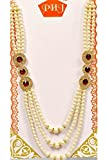 #5: PS Dulha Necklace Groom Moti Mala for Men