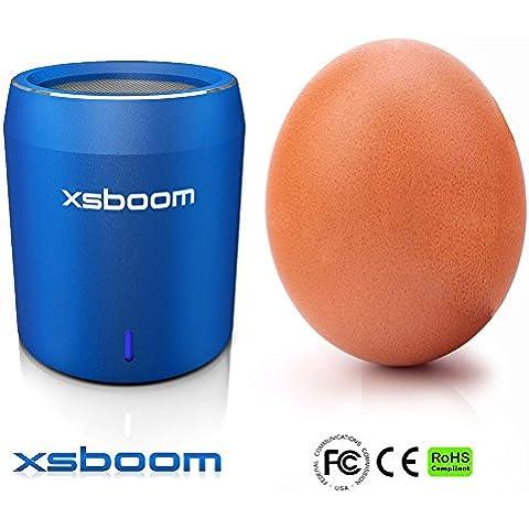 Mini Altavoz Bluetooth XSBOOM En Caja De Regalo Perfecta (Azul)