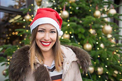 Weihnachtsmütze Nikolausmütze Mütze Weihnachten Nikolausmütze Santa Christmas Nikolaus Hund Mütze Groß - 2