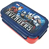 HM International Marvel Avengers Plastic Lunch Box, 800 Ml, Multicolour (HMLILB 73303-AV)