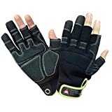 Hase Technik 3 Finger Montage Handschuh Outdoor Mechaniker Techniker Handschuhe