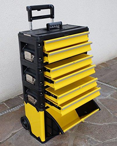 Metall Werkzeugtrolley XXL Type: 305BBBD - jetzt neu mit Schubladenverriegelung und Schloss von...