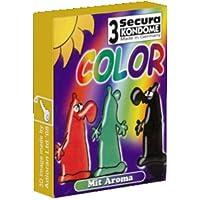 Preisvergleich für Secura Color - 3 Kondome