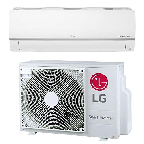 Split Klimaanlage Inverter Klimagerät mit Wärmepumpe Energieklasse A++ / A+ 18000 BTU 5.0 kW 75m2 Splitgerät LG Standard Plus