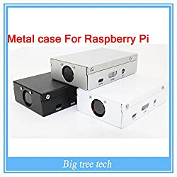 Generic Raspberry Pi 3 Metal case -Exclusive sale Sliver Metal Box - Iron Case For Raspberry Pi 2&3 With Fan Also Fit For Camera