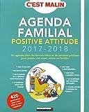 Telecharger Livres Agenda familial positive attitude 2017 2018 c est malin (PDF,EPUB,MOBI) gratuits en Francaise