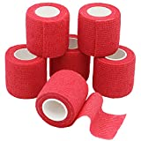 6 Rolls Cohesive Bandages 5cm, Medical Elastic Adhesive - Best Reviews Guide