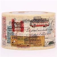 Nastro adesivo decorativo Washi viaggi biglietto