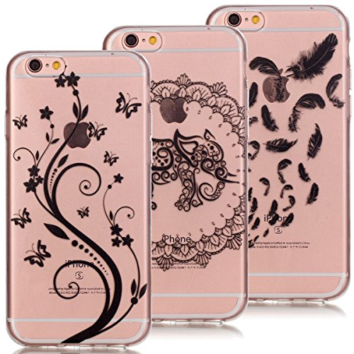 3x-coquesverttek-coque-iphone-6-etui-iphone-6s-47-pouces-tui-silicone-souple-coque-transparent-clair