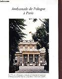 Telecharger Livres PLAQUETTE DE PRESENTATION DE L AMBASSADE DE POLOGNE A PARIS (PDF,EPUB,MOBI) gratuits en Francaise