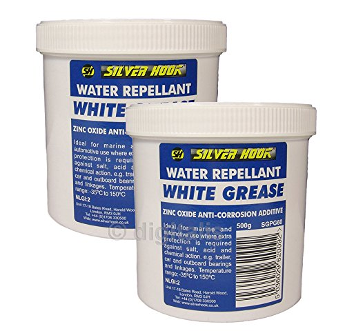 2-x-white-grease-water-repellent-with-zinc-oxide-salt-resistant-for-auto-marine-use-500g-tin