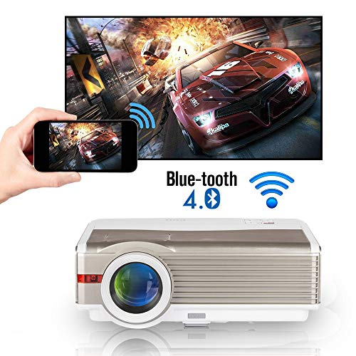 Bluetooth Wifi Projector Zoom LE...