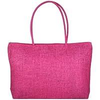 Gleader Donna borsa di paglia brosa Shopping Bag-In viaggio con