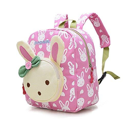 Imagen de dafenq linda guardería infantil  cartoon conejo guardería primaria dibujos bolsa escuela kinderrucksack para niño niña rosa  alternativa