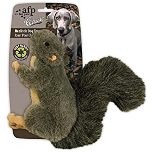 All-For-Paws-Classic-Squirrel-Pet-Toys