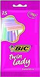 Best BIC Rasoirs Femmes - Bic Twin Lady 15 Rasoirs 2 Lames Review