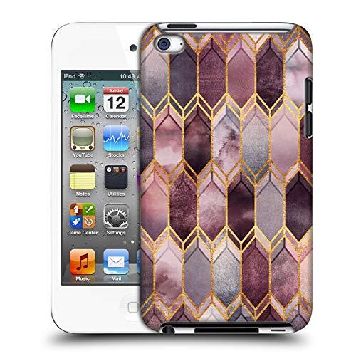 Offizielle Elisabeth Fredriksson Vertrauemt Fleckiges Glas Funkelnd Harte Rueckseiten Huelle kompatibel mit Apple iPod Touch 4G 4th Gen